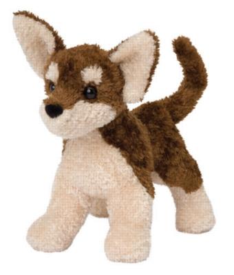 Coffee Chihuahua - 9'' Dog By Douglas Cuddle Toy
