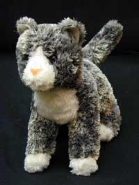 Steely Grey - 9'' Cat By Douglas Cuddle Toy