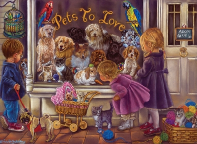 Perre Jigsaw Puzzles - Pets to Love