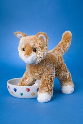 Alma Golden - 9'' Cat By Douglas Cuddle Toy
