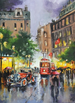 Perre Jigsaw Puzzles - Istiklal Street, Istanbul