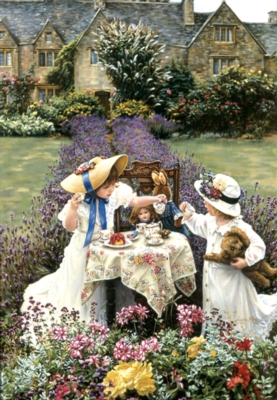 Perre Jigsaw Puzzles - Tea Time at Garden
