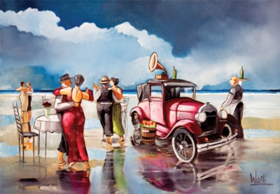Perre Jigsaw Puzzles - Dancing on the Beach