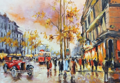 Perre Jigsaw Puzzles - Evening in Istanbul