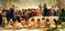 Perre Jigsaw Puzzles - The Babylonian Marriage Market