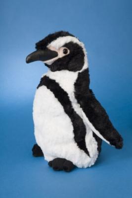 "Stripes Humbolt - 10"" Penguin By Douglas Cuddle Toy"