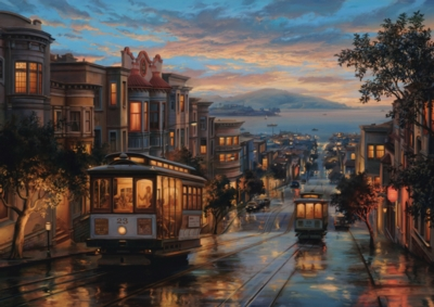 Perre Jigsaw Puzzles - Cable Car Heaven