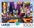 Times Square - 1000pc Large Format Jigsaw Puzzle By Buffalo Games
