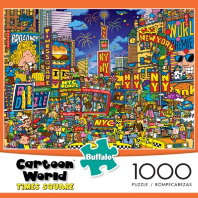Jigsaw Puzzles - Cartoon World: Times Square
