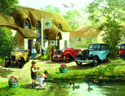 Jigsaw Puzzles - An Olde English Pub
