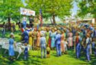 Mapletown Picnic - 500pc Jigsaw Puzzle By Sunsout