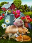 Lazy in the Sun - 300pc Jigsaw Puzzle By Sunsout