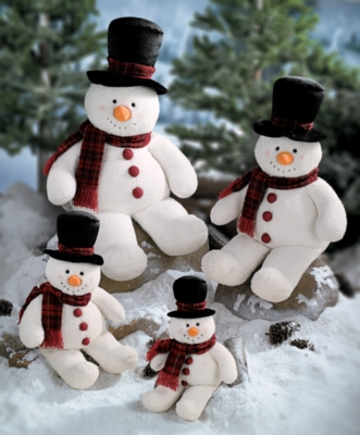 Snowball - 18.5'' Snowman by Gund