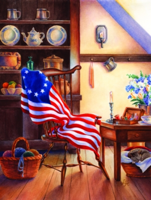 Jigsaw Puzzles - Betsy's Flag