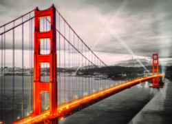 San Francisco Golden Gate Bridge jigsaw puzzle