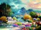 Springtime Valley - 1000pc Jigsaw Puzzle By Sunsout