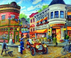 Jigsaw Puzzle - Dorothy's Busy Intersection
