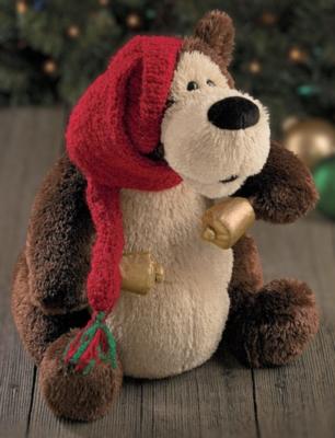 Jingle Bell Rock Goober Singing - 13'' Bear by Gund