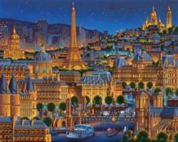Paris - City of Lights Jigsaw Puzzle
