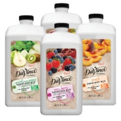 DaVinci Gourmet Smoothies - 64 oz. - Assorted Case of 4