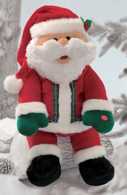 Talking Laughing Santa - 25'' Santa by Gund