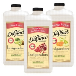 DaVinci Invigorators - 64 oz. - Assorted Case of 4