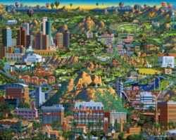 Dowdle Jigsaw Puzzles - Valley of the Sun