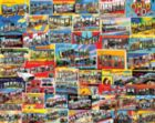 Postcards From America - 1000pc Jigsaw Puzzle By White Mountain