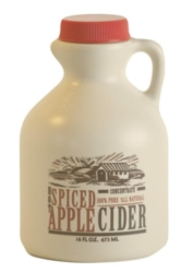 Mountain Cider Spiced Apple Cider Concentrate - Case of Twelve 16 oz. Jugs