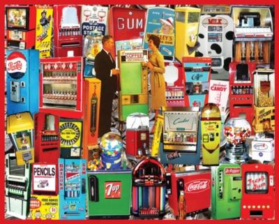 Vending Machines Jigsaw Puzzle