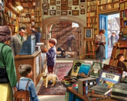 Old Book Shop Jigsaw Puzzle