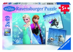 Ravensburger Frozen Winter Adventures Puzzles
