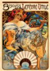 Biscuits Lefevre-Utile: Alfonse Mucha - 1000pc Jigsaw Puzzle by D-Toys