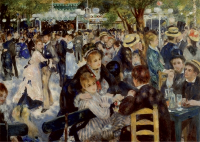 D-Toys Dance at the Moulin: Renoir Jigsaw Puzzle