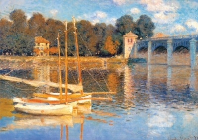 D-Toys The Bridge at Argenteuil: Monet Jigsaw Puzzle