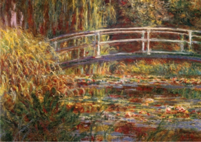 D-Toys The Japanese Bridge: Monet Jigsaw Puzzle