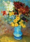 Flowers in Blue Vase: Van Gogh - 1000pc Jigsaw Puzzle by D-Toys