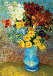 D-Toys Flowers in Blue Vase: Van Gogh Jigsaw Puzzle