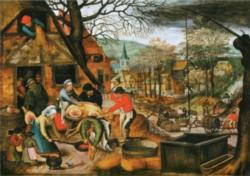 D-Toys Autumn: Brueghel Jigsaw Puzzle