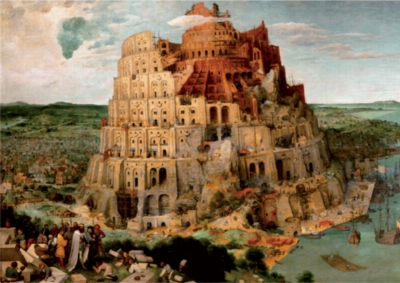 D-Toys The Tower of Babel: Brueghel Jigsaw Puzzle