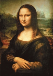 D-Toys Mona Lisa: da Vinci Jigsaw Puzzle