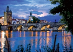 D-Toys Prague Bridge Jigsaw Puzzle