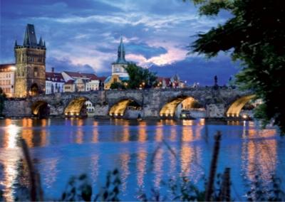 D-Toys Prague Bridge Jigsaw Puzzle