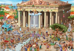 D-Toys Acropolis of Athens Jigsaw Puzzle
