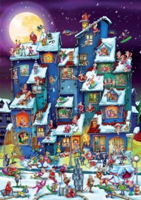 D-Toys Christmas Antics Jigsaw Puzzle
