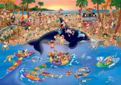 D-Toys Seaside Antics Jigsaw Puzzle