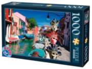Burano  - 1000pc Jigsaw Puzzle by D-Toys