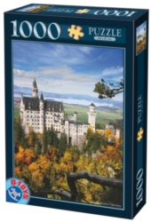 D-Toys Neuschwanstein Portrait Jigsaw Puzzle