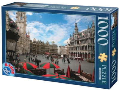 D-Toys Brussels Jigsaw Puzzle