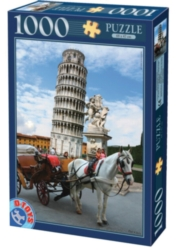 D-Toys The Tower of Pisa Jigsaw Puzzle